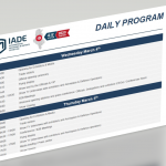 The Daily programme of the International Aerospace & Defence Exhibition