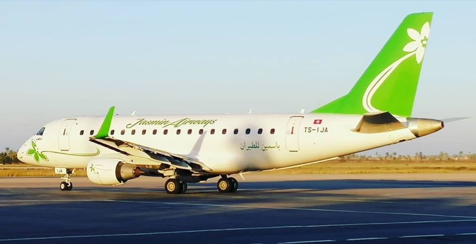 Embraer 170 of Jasmin Airways TS-IJA by Marouane Melliti at Djerba Zarzis DTTJ.